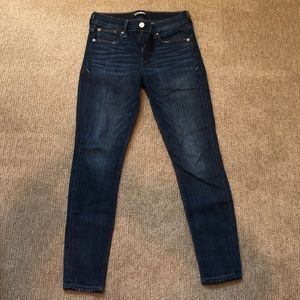 Express Distressed Jeans, Size 0 Short